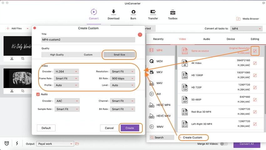 تحويل ملفات الفيديو باستخدام iSkysoft Video Converter Ultimate على نظام Mac