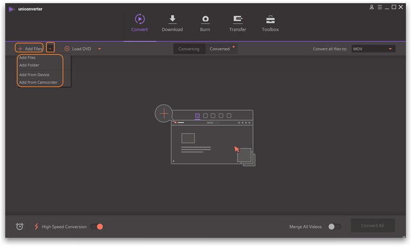 دليل برنامج  iSkysoft Video Converter Ultimate علي نظام Windows - البداية