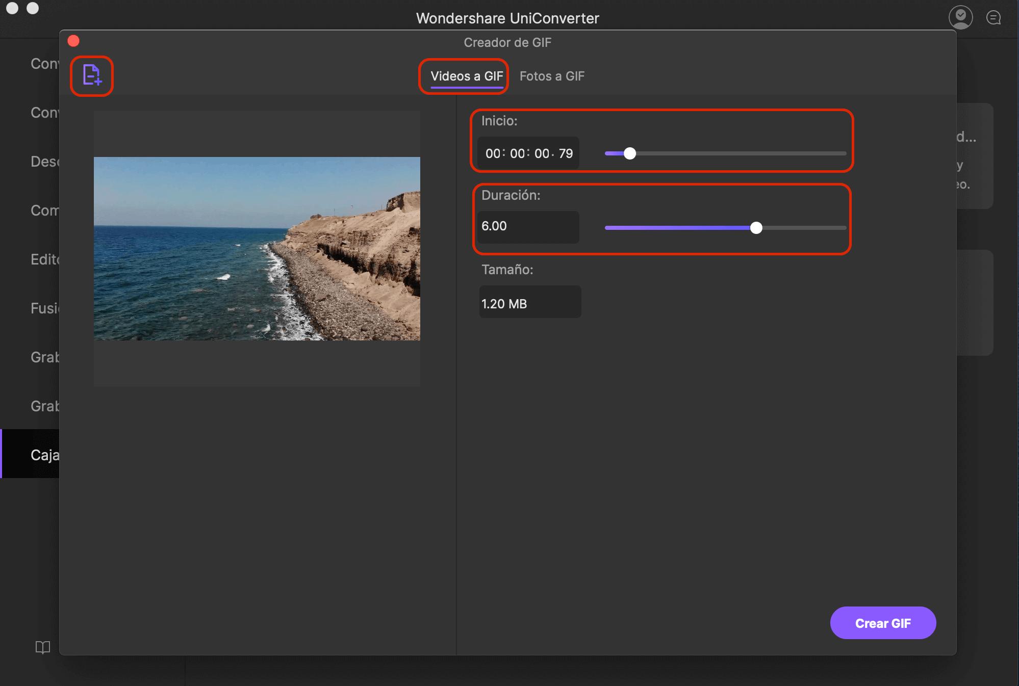 creador gif iskysoft imedia converter deluxe mac