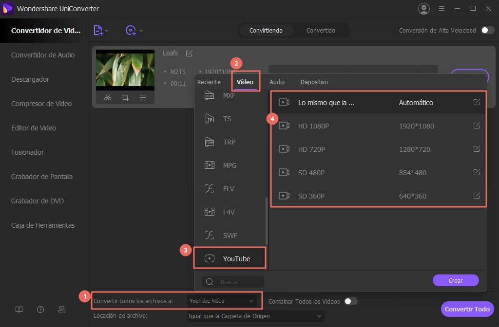 Conversor YouTube WAV: Cómo Subir Archivos WAV a YouTube