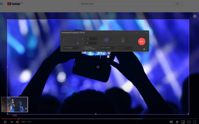 comment enregistrer des vidéos en utilisant uniconverter pour windows