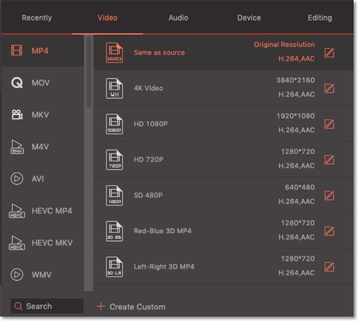 Une manière simple&rapide pour convertir BUP en MP4 sur Mac ou Windows