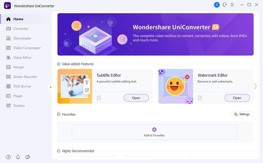 uniconverter for windows 13
