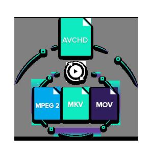 convert avchd to mpeg2