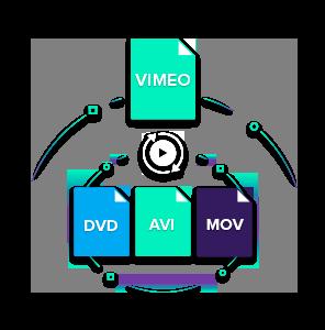 burn vimeo video to dvd