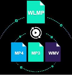 convert wlmp to mp4