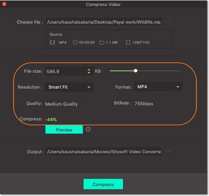 How do I Compress Camcorder Videos