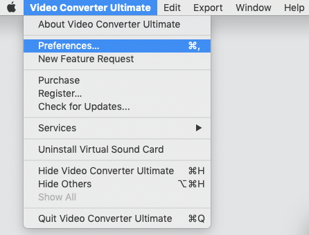 set on preferences to import dvd to itunes