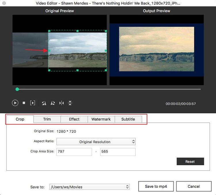edit video burn mp4 to dvd mac