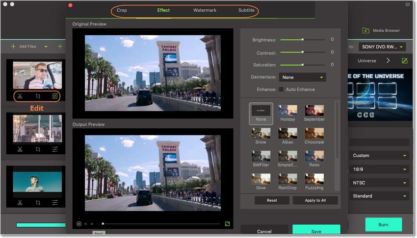 edit mpg on mpg to dvd converter