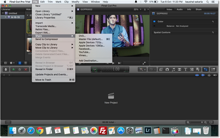 How to Export WMV from Final Cut Pro