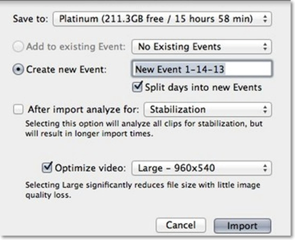 How to Convert and Import MTS to iMovie Easily on Mac