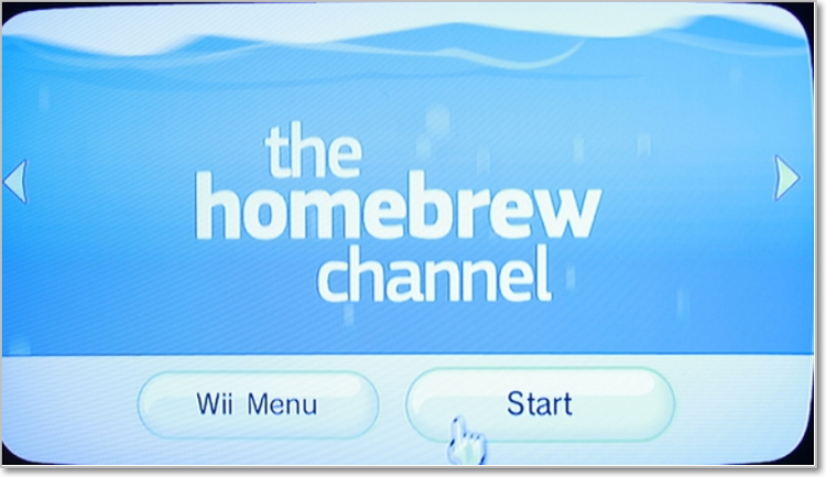 play dvd on wii with homebrew