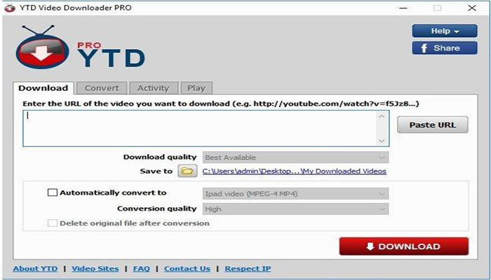 youtube converter and downloader