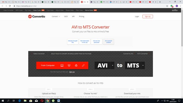 How to Convert AVI to MTS Free Easily