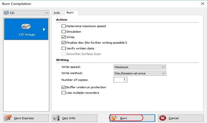 How to Burn ISO to DVD on Windows 10/7