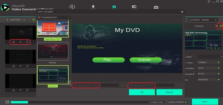 edit itunes movie on itunes to dvd burner