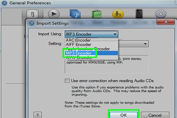 convert m4v to mp3 by itunes