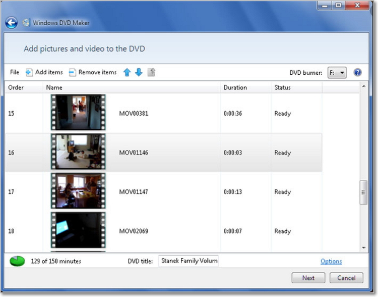 make dvd with windows dvd maker