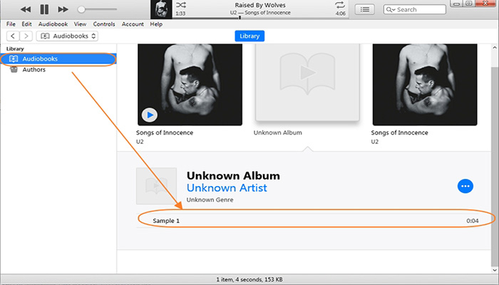 audiobook to mp3 with itunes
