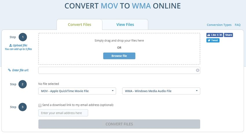 Best and Free Ways to Convert MOV to WMA without Quality Loss