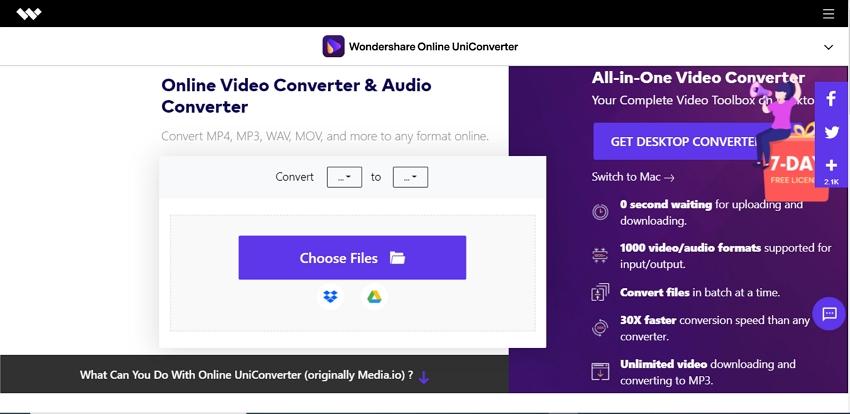 Convert MKV Videos mac online