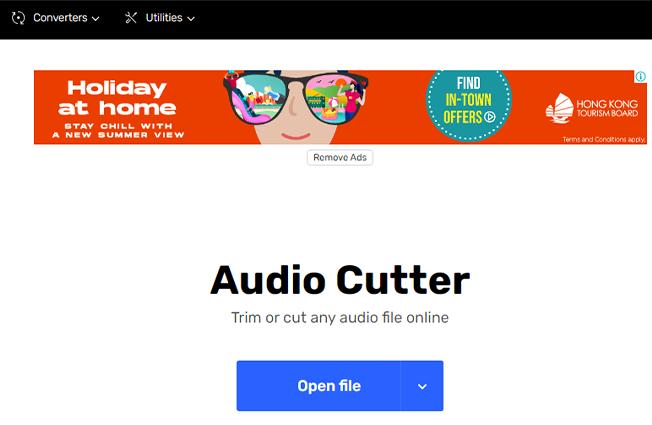 audio cutter online