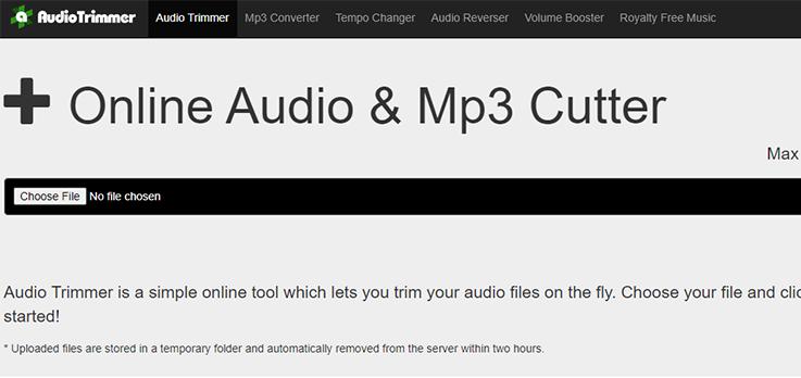 audio trimmer online