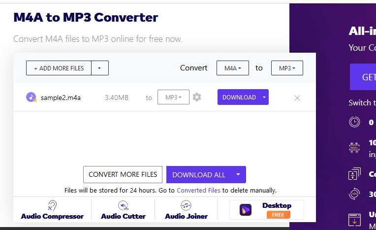 get mp3 files