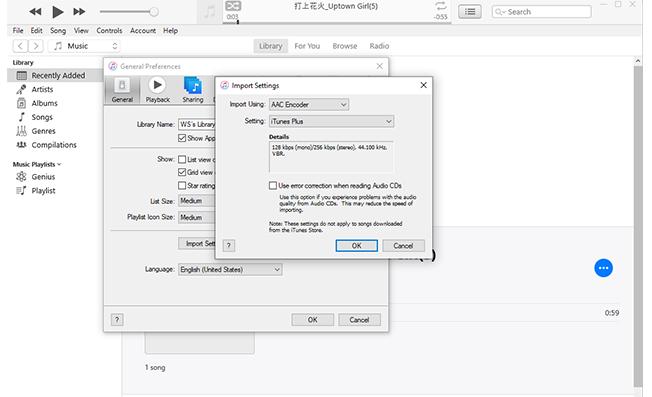 use iTunesto convert mp3 to m4r