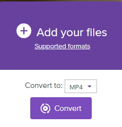 how to convert mov to mp4 online