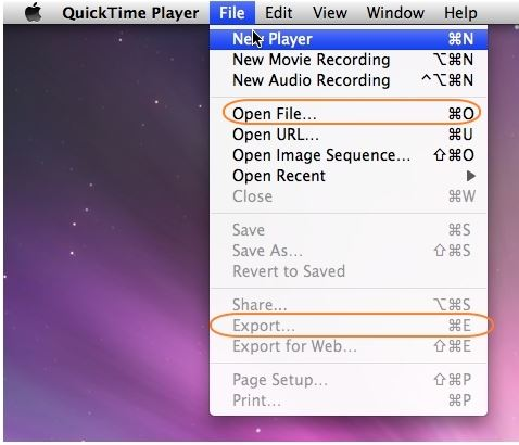 open mov file in quicktime