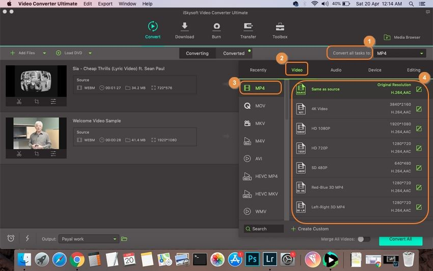 WebM to MP4 Converter: How to Convert WebM to MP4 on Mac/PC
