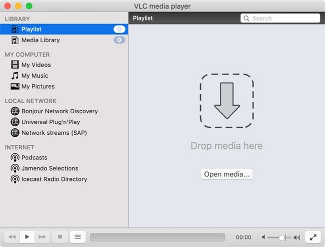 open vlc on mac
