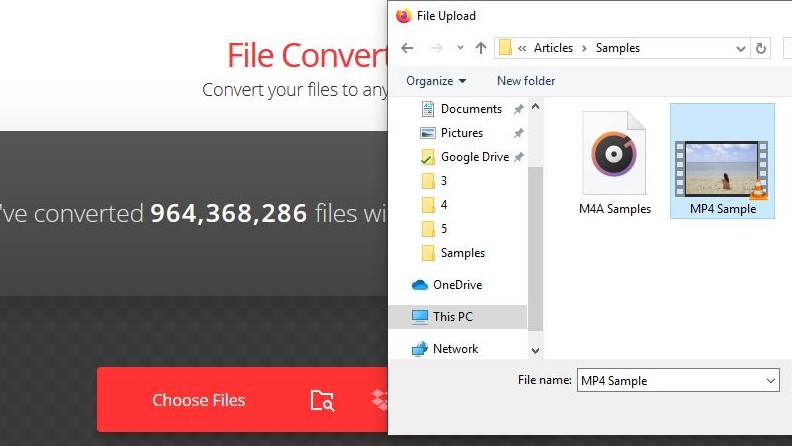 upload mp4 to convertio