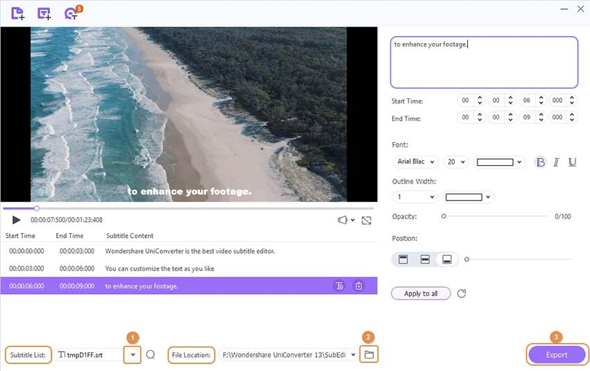 M2TS Subtitle Tool 4