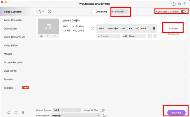 Convert MKV Videos mac