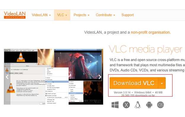 Add Subtitles in VLC 1