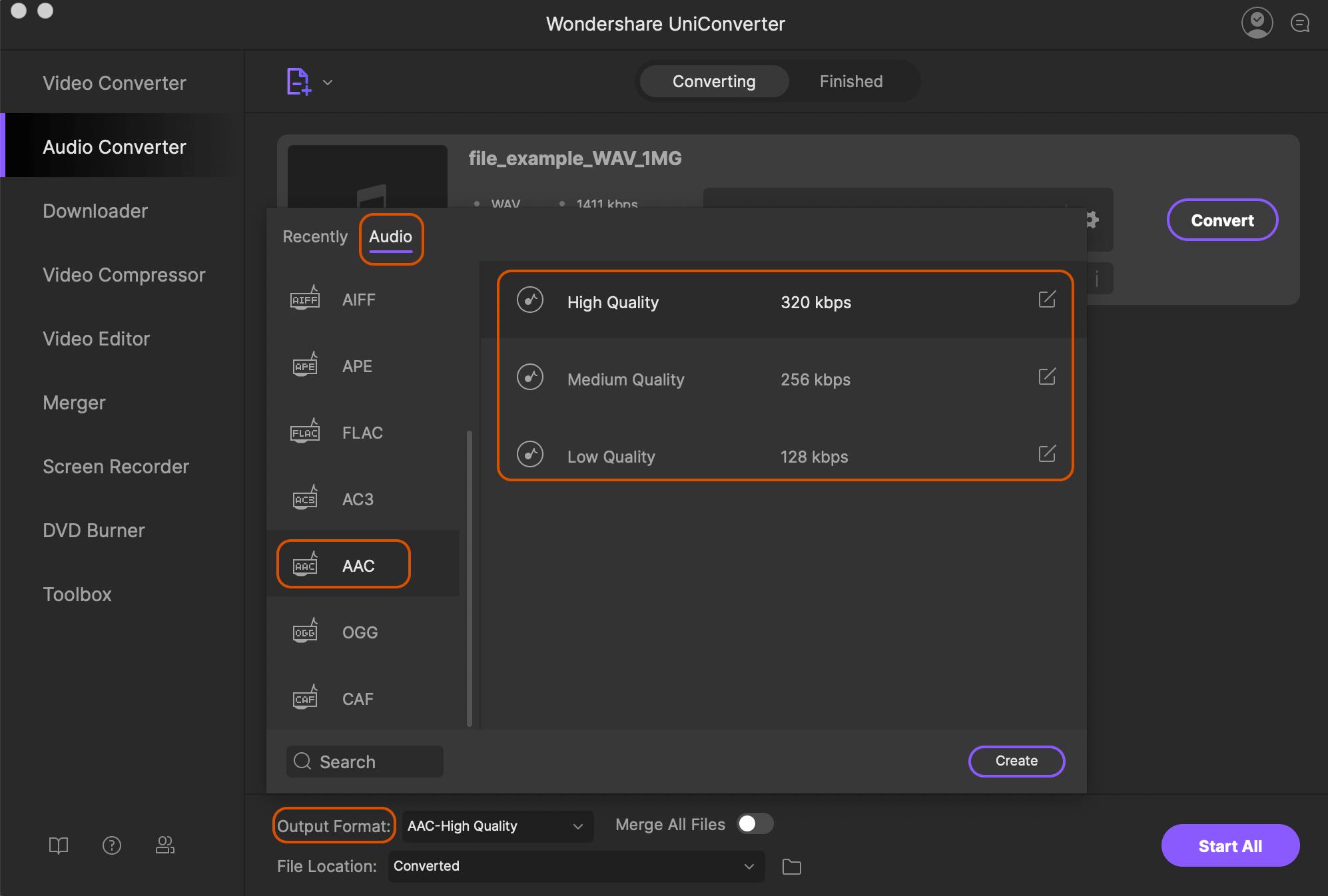 WAV to AAC: How to Convert WAV to AAC Format in iTunes