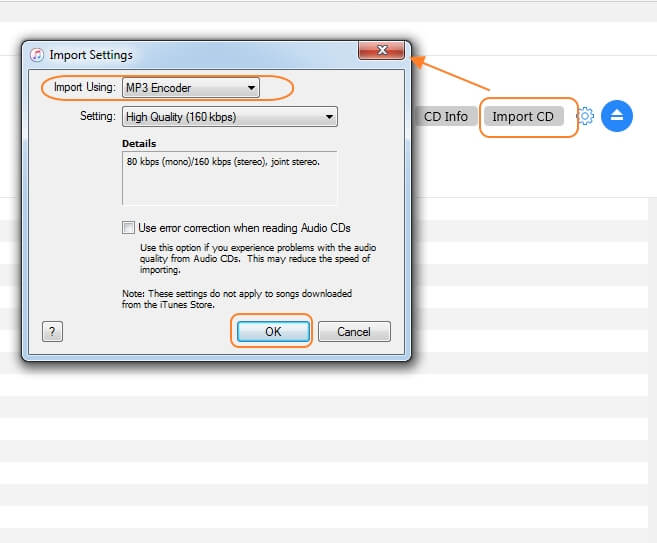 convert cd to mp3 with itunes