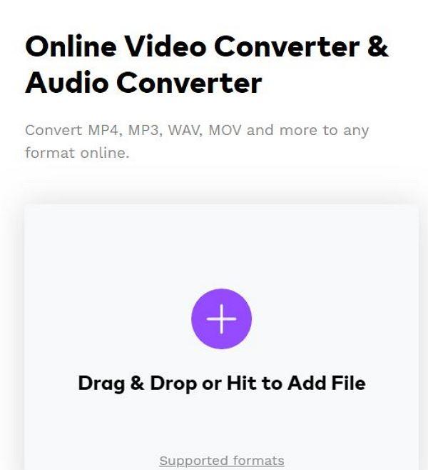 add avchd by online uniconverter