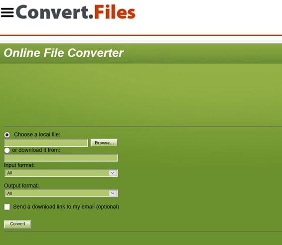 convert avchd to mov by convert.files