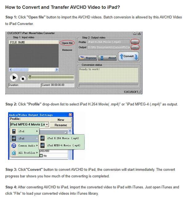 download cucosoft iPad video converter