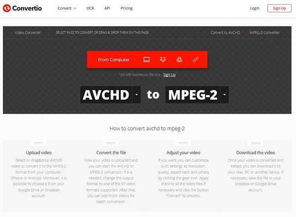 The Really Useful Guide: Convert AVCHD to MPEG-2