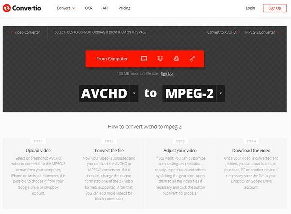 open convertio online tool