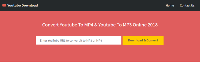free online youtube to mp4 converter