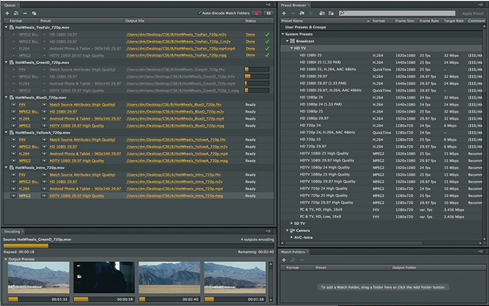 Adobe Media Encoder: How to Convert Videos with Adobe Video Converter