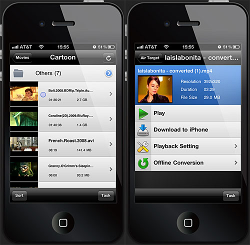 video player for iphone