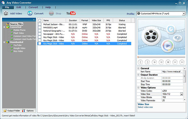 best VOB video converter Any Video Converter
