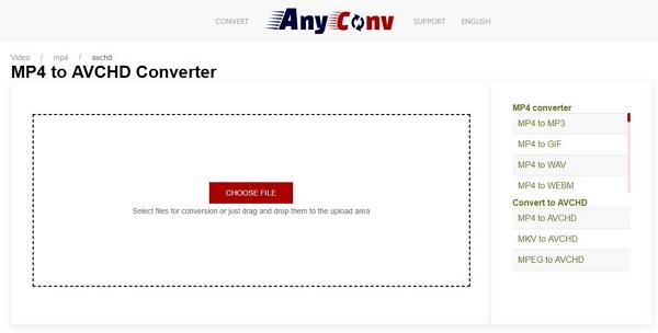 open anyconv online converter